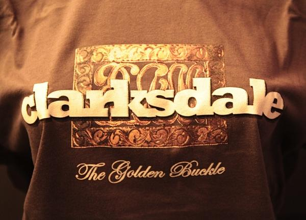 Bringing Back The Shine T-shirt: Clarksdale - The Golden Buckle of the Cotton Belt