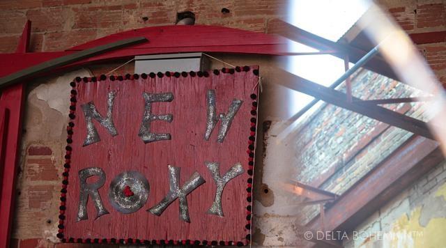 The NEW ROXY in Clarksdale.