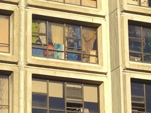 An apartment window in Downtown Sydney. Photo by DELTA BOHEMIAN
