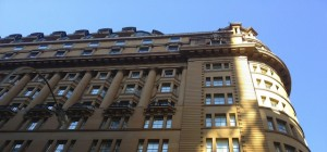 A building in Downtown Sydney on Pitt Street. Photo by DELTA BOHEMIAN