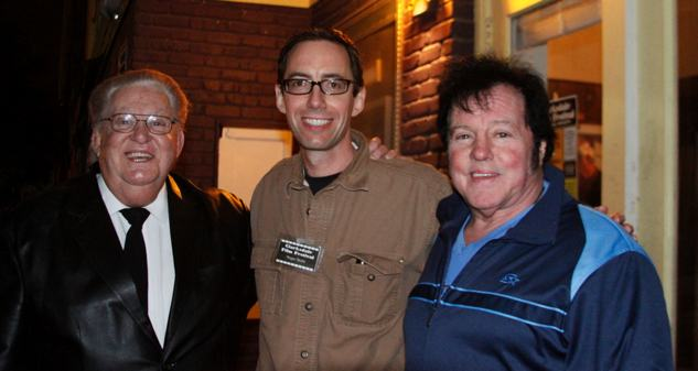 Roger Stolle with Buddy Wayne (L) and Bill Dundee (R) at Cdale Film Festival 2012