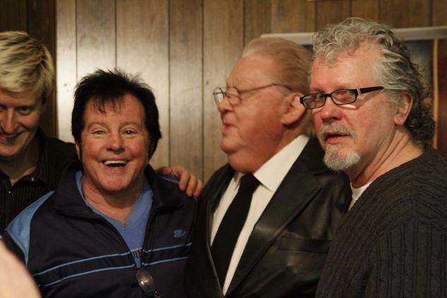 """Superstar"" Bill Dundee, Buddy Wayne and Memphis Heat producer Ron Hall at Cdale Film Festival 2012"