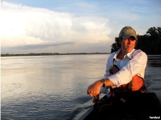 Mike Clark canoeist and owner of Big Muddy Adventures. Photo courtesy of Mike Clark