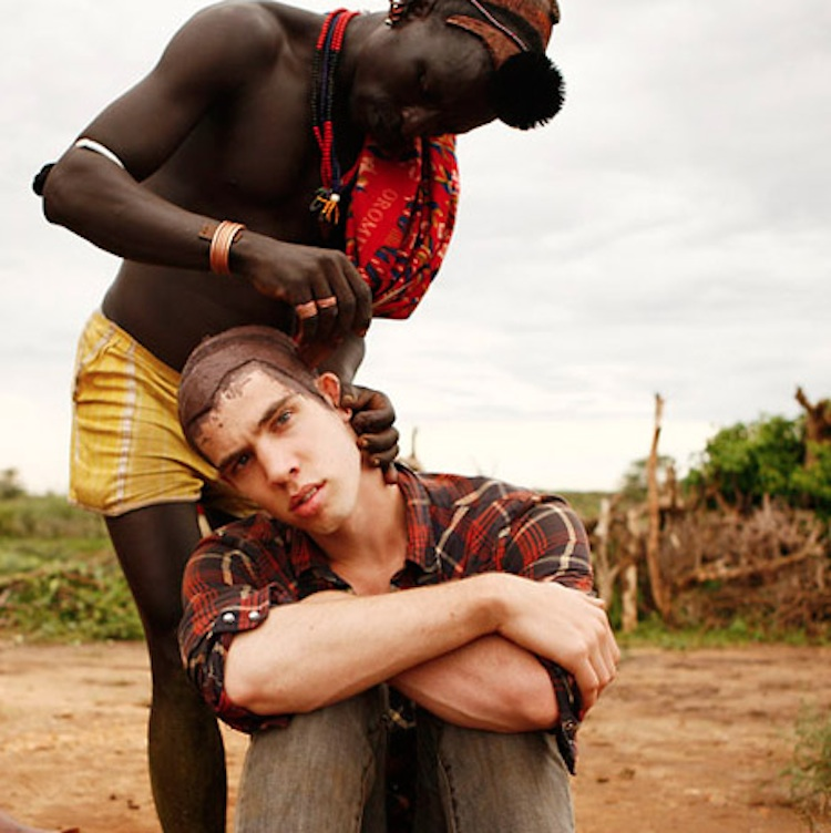 Photographer and Filmmaker Joey L. with a friend in Ethiopia. Photo courtesy of joeyl.com
