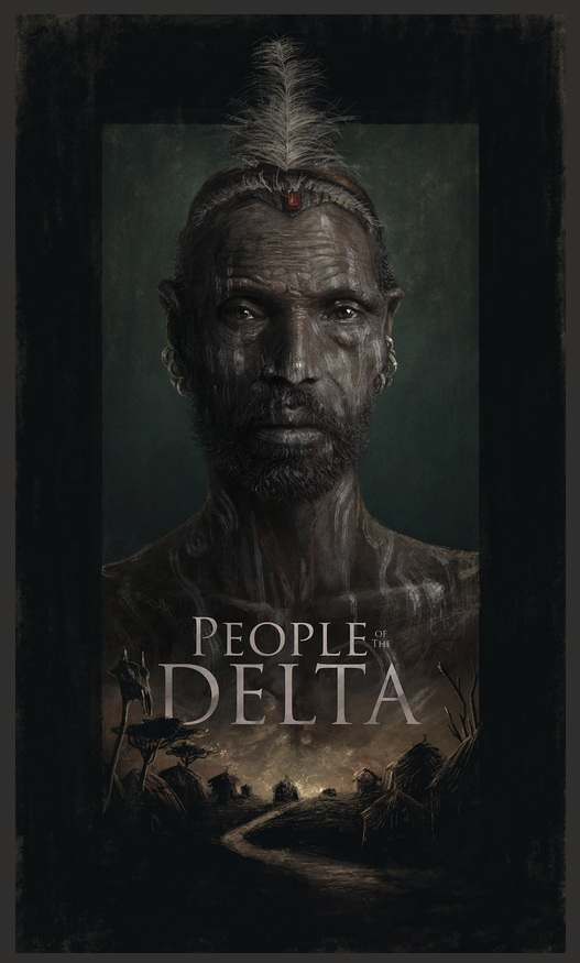 "Early concept art by illustrator Sam Spratt for ""People of the Delta"" by Joey L. Courtesy of joeyl.com"