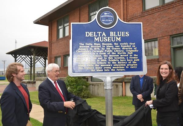 Delta Blues Museum Blues Trail Marker Unveiling