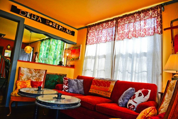 Delta Bohemian Guest House. Photo by Mary Brock Bobo