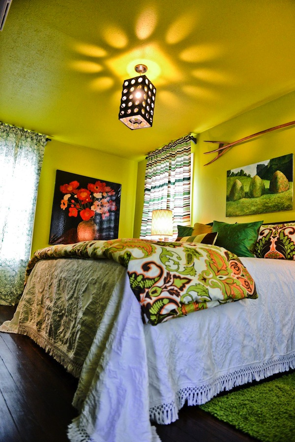 Green Acres Bedroom in Delta Bohemian Guest House. Photo by Mary Brock Bobo