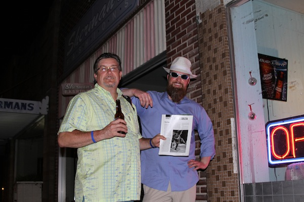 Poor William and Sean Bad Apple in Clarksdale. Photo by DB.