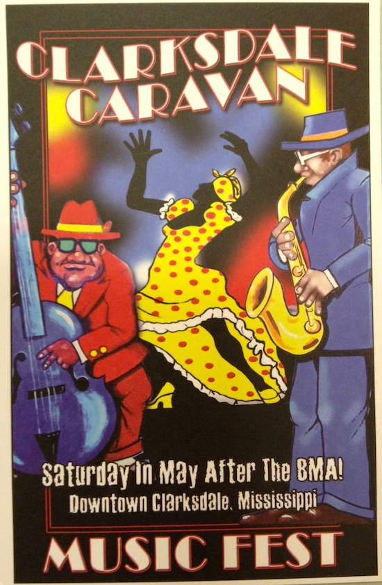 Clarksdale Caravan Festival every Saturday in May after the BMA.