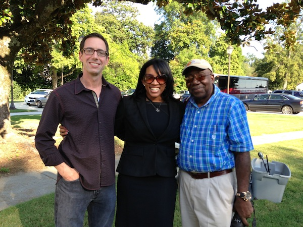 Roger Stolle, Heather Williams, Troy Catchings