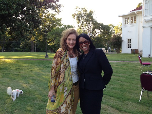 Magical Madge and Mayor Luckett's Assistant Heather Williams