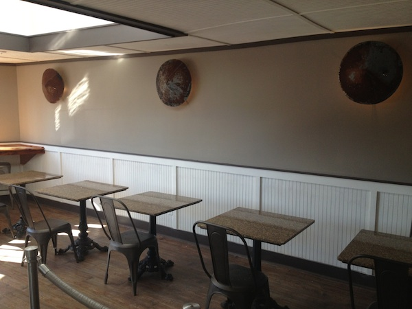 Interior of Dreamboat in Clarksdale - still in progress