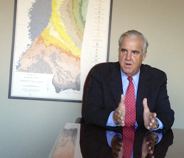 Clarksdale Mayor Bill Luckett in his office. ©Delta Bohemian