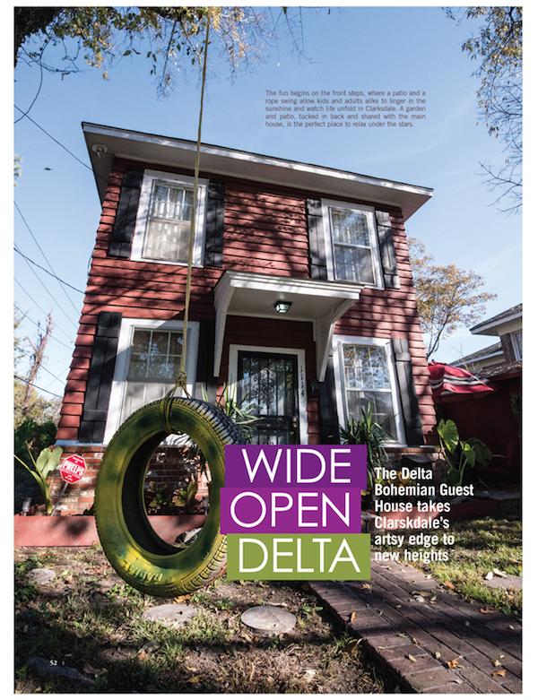 Delta Magazine Article WIDE OPEN DELTA pg 52