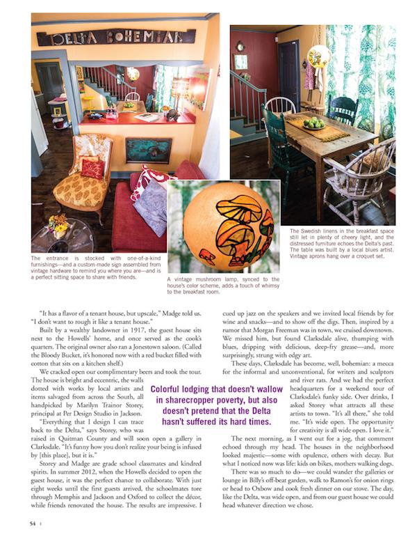 Delta Magazine Article WIDE OPEN DELTA pg 54