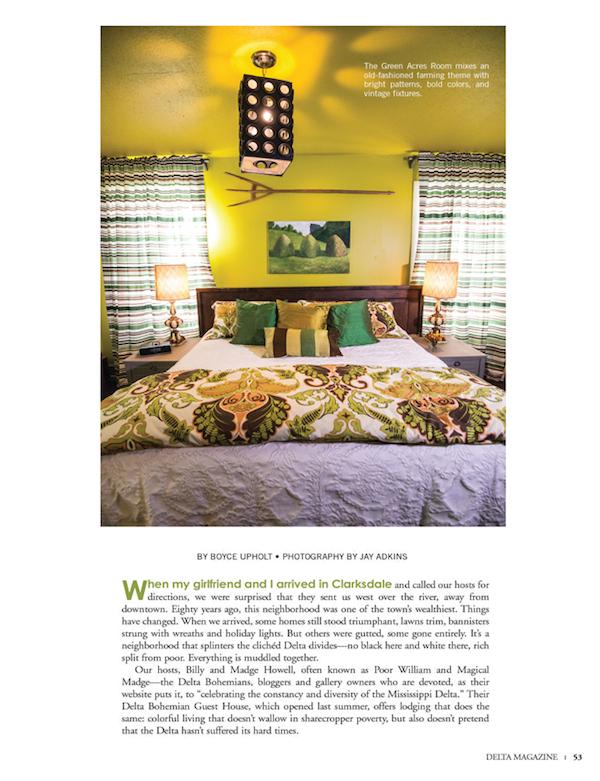 Delta Magazine Article WIDE OPEN DELTA pg 53