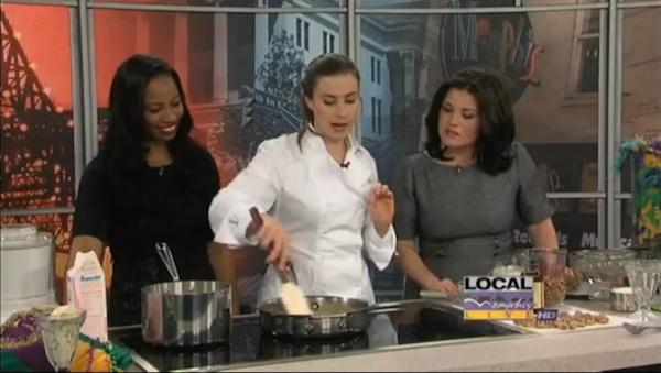 Pastry Chef E'Lane Bobo Williams on Local Memphis Live