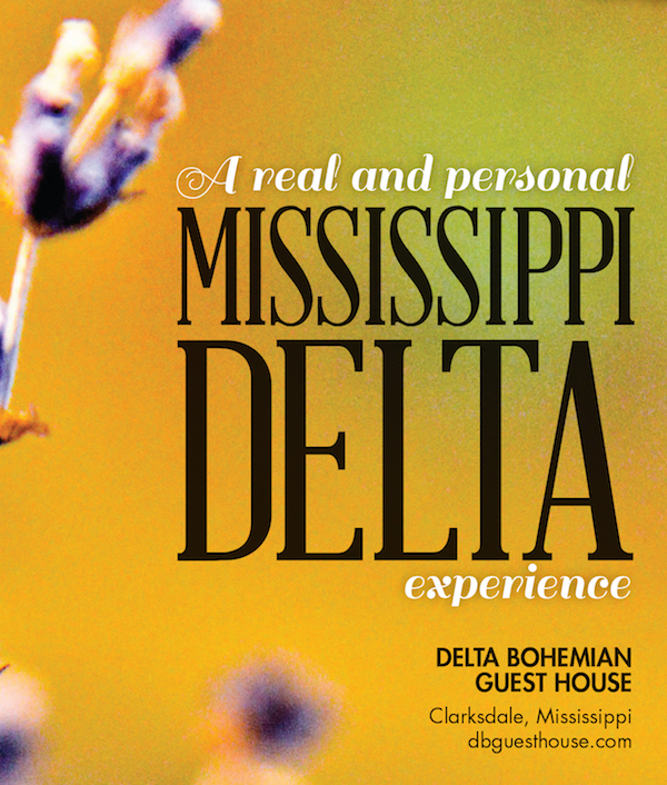 Mississippi Welcome Centers welcome Delta Bohemian Guest House