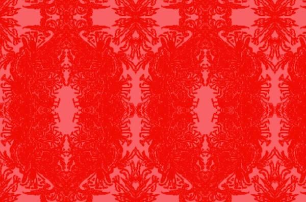 """French Follie"" - original art fabric by Kim Duease"