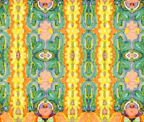 """River Road"" - Original Art Fabric by Kim Duease"