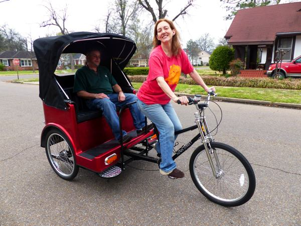 Pedicab Tours in Clarksdale – Say what?!