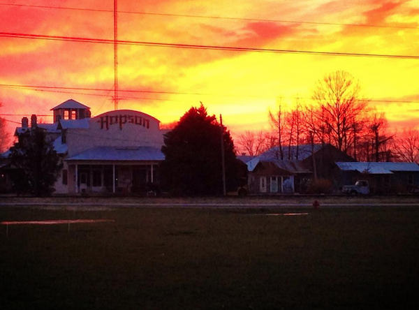 Hopson Commissary sunset - Photo by Poor William