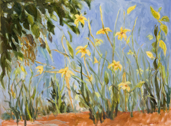 Lilies in the Woods by Sandra Simpson at Cassidy Bayou Gallery