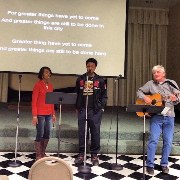 Kandis Wigley-Webb and Bill Gleason lead Community Fellowship