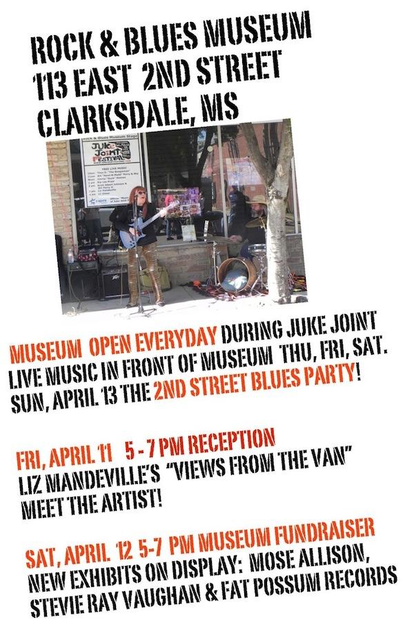 ROCK & BLUES MUSEUM Poster for Juke Joint Festival Week 2014