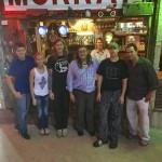 Group at RUST Restaurant at Shack Up Inn