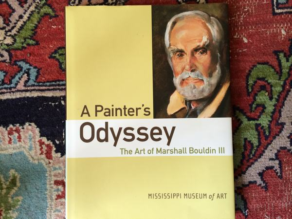 "Cover of book ""A Painter's Odyssey: The Art of Marshall Bouldin, III"""