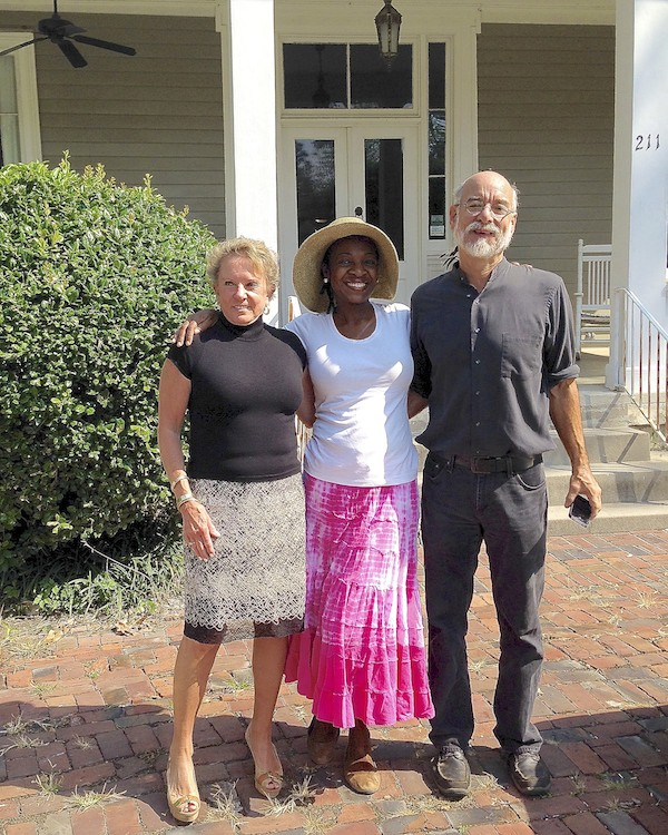 Francine Luckett, University of Alabama professor Dr. Sharony Green and her husband John Beeler