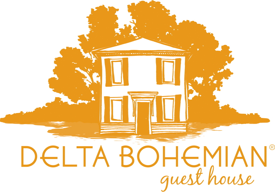 Delta Bohemian Guest House logo design by Sundaram New Media Company