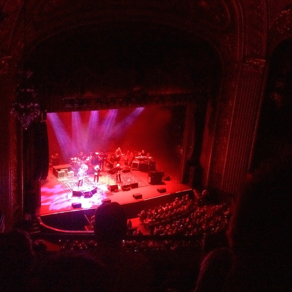 Crosby, Stills & Nash at the Orpheum in Memphis taken from the top row