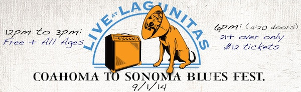 Lagunitas Brewery hosts 3rd Coahoma to Sonoma County Blues Festival