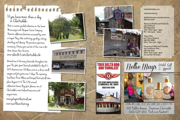 Desoto Magazine Features A Day Away in Clarksdale
