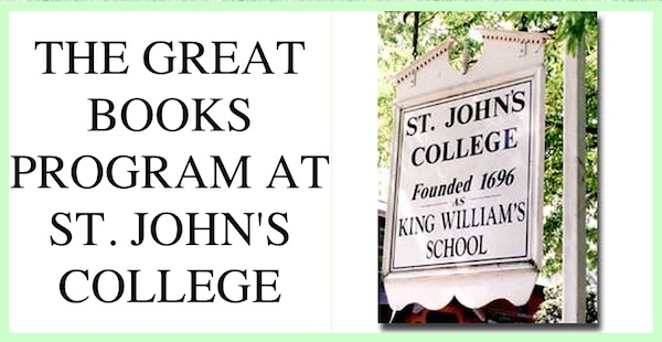 The Great Books Program at St. John's College comes to Mississippi