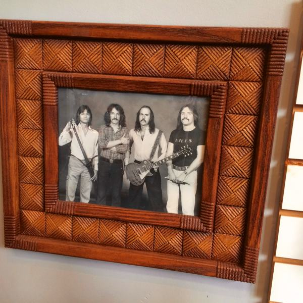 Joe Nathan (3rd from left) in the band Kicks. They played in Clarksdale 35-40 years ago.