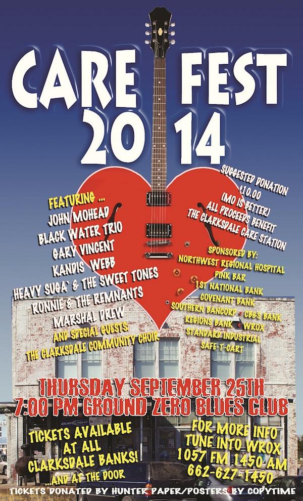 GROUND ZERO CARE FEST 2014 GONNA ROCK