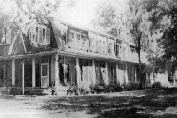 Matagorda Plantation home. Photo from Elizabeth Rodgers Collection