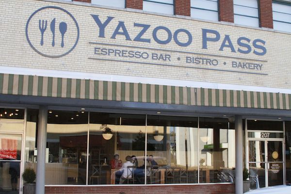 Yazoo Pass in Downtown Clarksdale