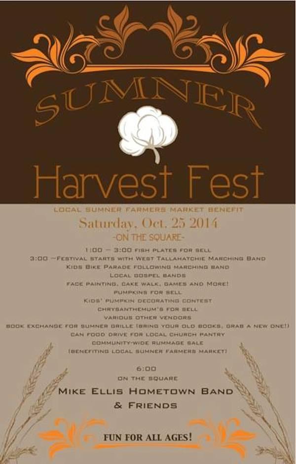 Sumner Harvest Festival Poster