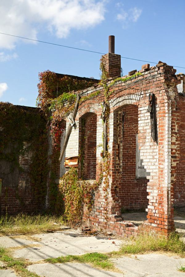 Ruins - Marks, Mississippi PHOTO BY DONALD CHRISTIAN