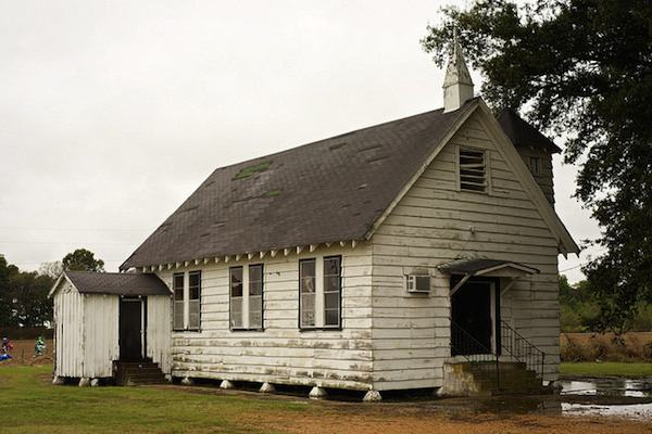 Country church near Minter City, Mississippi PHOTO BY DONALD CHRISTIAN