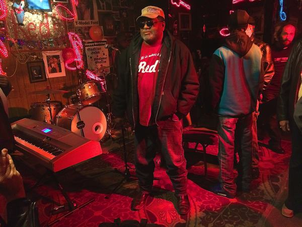 Red Paden, founder and owner of Red's Blues Club in Clarksdale
