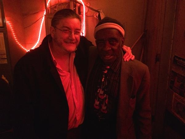 """Servants and Friends Poor William and Leo """"Bud"""" Welch at Red's Place"""