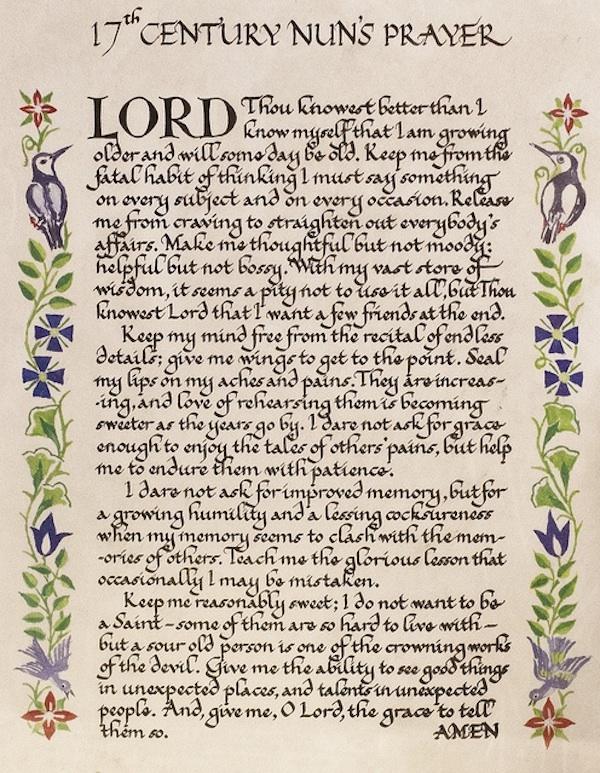 Clarksdale Garden Club and an Old Nun Prayer