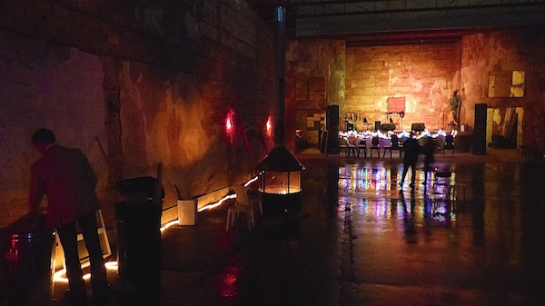 A rainy night at the New Roxy in Clarksdale