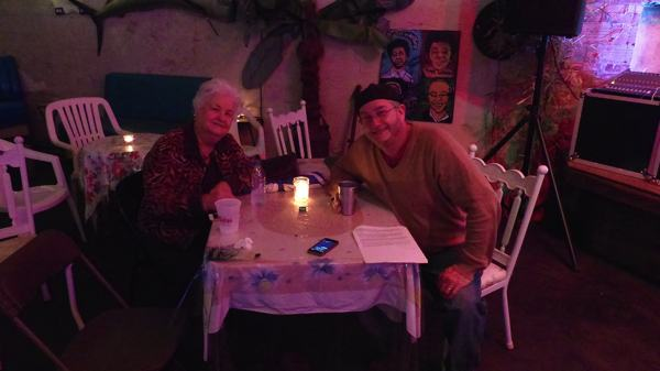 Mama Martha Jane Howell and Poor William at the New Roxy in Clarksdale